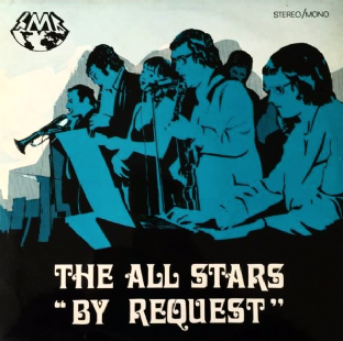 All Stars Band (The) - By Request (LP) (Signed) (G++/VG)